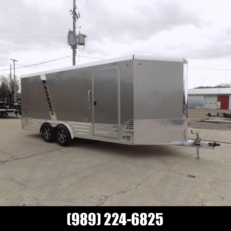 New Legend Deluxe V-Nose 8' x 21' Enclosed Cargo Trailer - $0 Down & $139/mo. W.A.C.