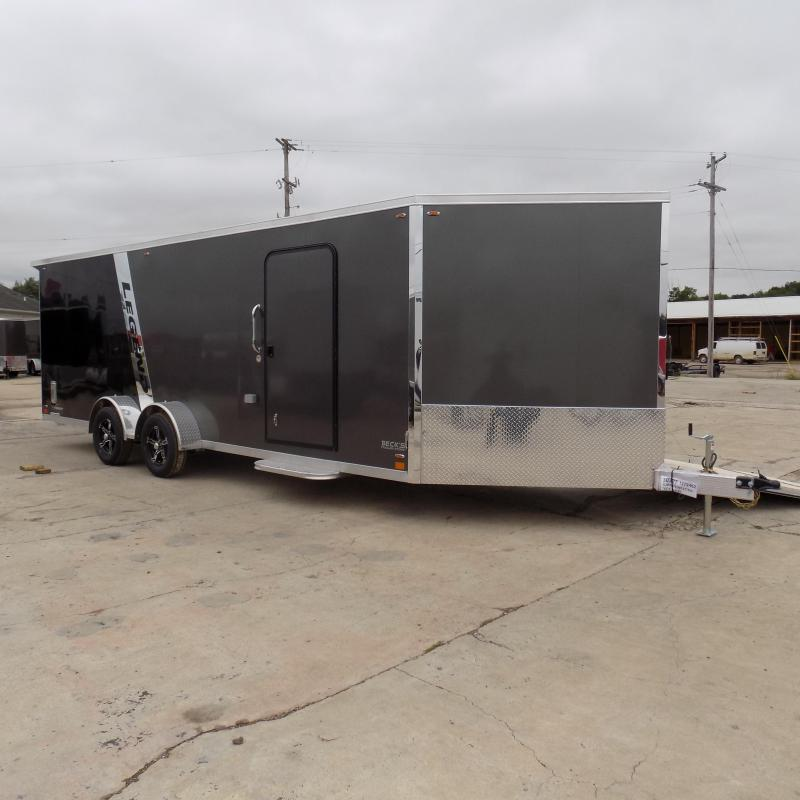 New Legend Explorer 7' x 27' Snowmobile Trailer - $0 Down & Payments From $159/mo. W.A.C - Come See America's Largest Snow/ATV Trailer Inventory!