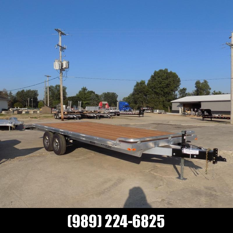 New Legend 8.5' x 22' All Aluminum Deckover Equipment Trailer - $0 Down & Payments From $137/mo. W.A.C.