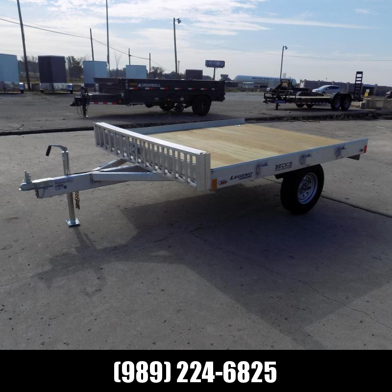 New Legend 7' x 8' Aluminum ATV Trailer For Sale - Easy To Load & Tow! - $ Down And Payments From $69/mo W.A.C