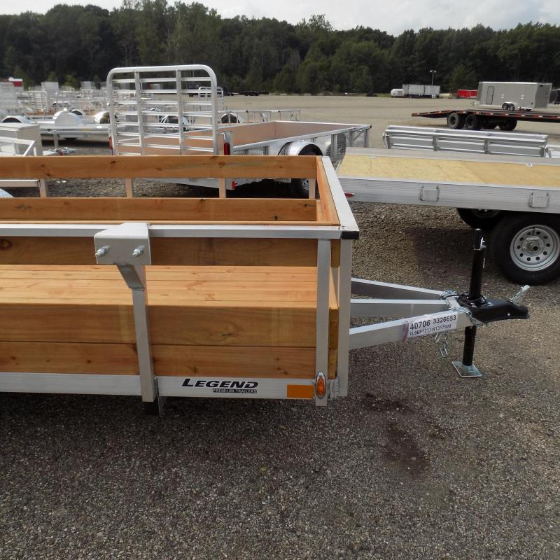 New Legend 6' x 12' Aluminum Utility Trailer For Sale - $0 Down & Payments From $89/mo. W.A.C.