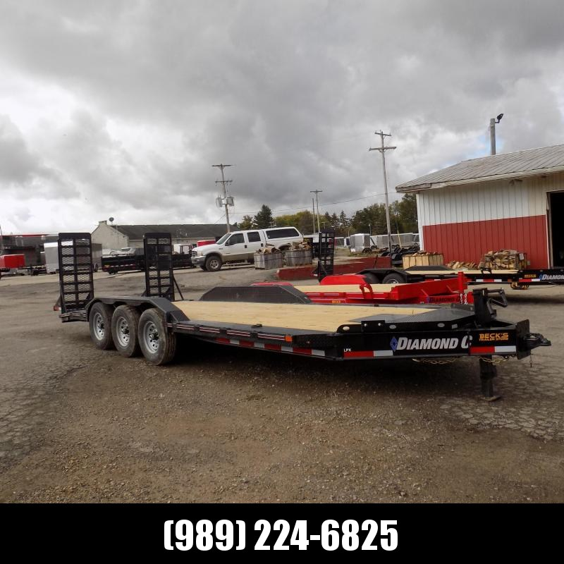 "New Diamond C Trailers 102"" x 22' Heavy Duty Equipment Trailer With Drive-Over Fenders - Over 20K Payload Capacity - $0 Down & Payments from $135/mo. W.A.C."