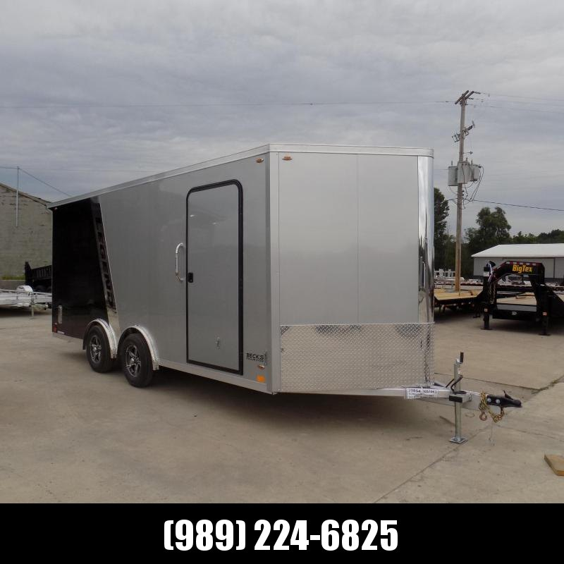 New Legend FTV 8' x 21' Aluminum Cargo Trailer - $0 Down Financing Available