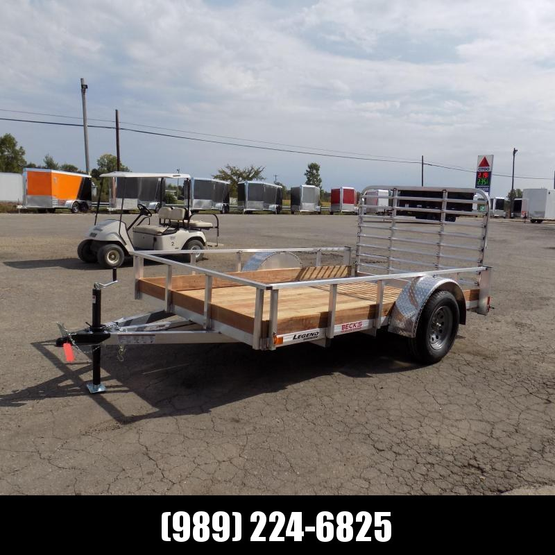New Legend 6' x 10' Aluminum Utility Trailer For Sale - $0 Down & Payments From $59/mo. W.A.C.