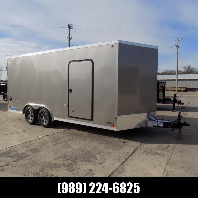 New Legend Thunder 8.5' X 18' Aluminum Enclosed Cargo Trailer - Torsion Axles - $0 Down & Payments From $145/mo. W.A.C.