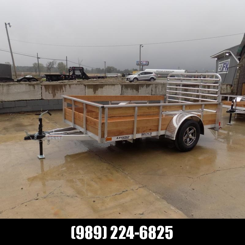 New Legend 6' x 10' Aluminum Utility Trailer For Sale - $0 Down & Payments From $85/mo. W.A.C.