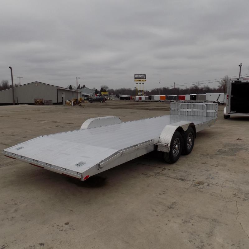 New Legend 7' x 24' Aluminum Open Car Hauler - 5200# Torsion Axles - $0 Down & Payments From $109/mo. W.A.C.