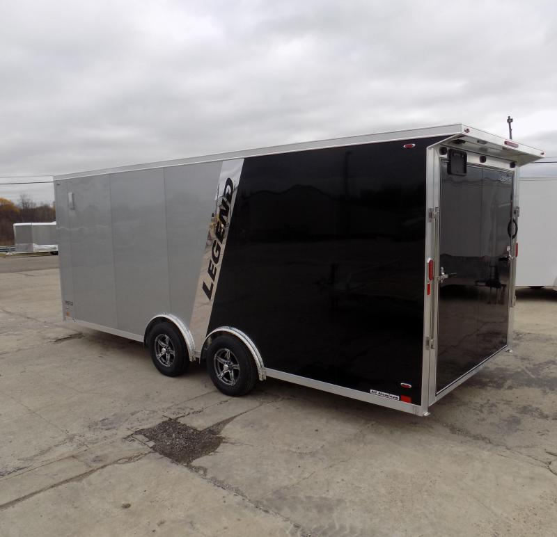 New Legend FTV 8' x 23' Aluminum Cargo Trailer - LOADED & A MUST SEE - $0 Down Financing Available