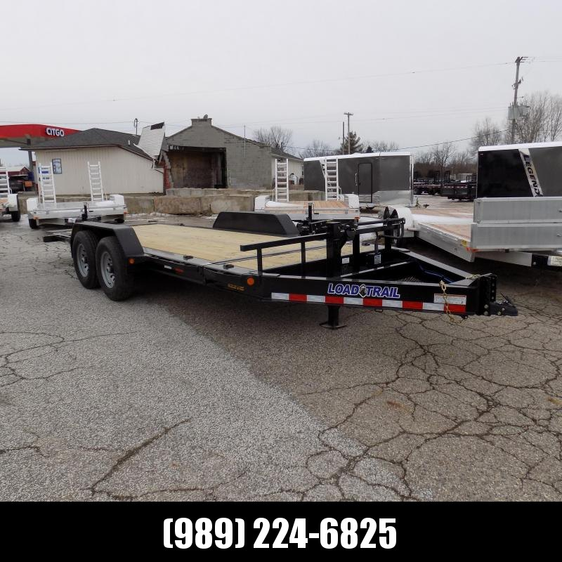 "New Load Trail 83"" x 18' Tilt-N-Go Equipment Trailer For Sale - $0 Down & Payments From $127/mo. W.A.C. - Best Deal Guarantee"