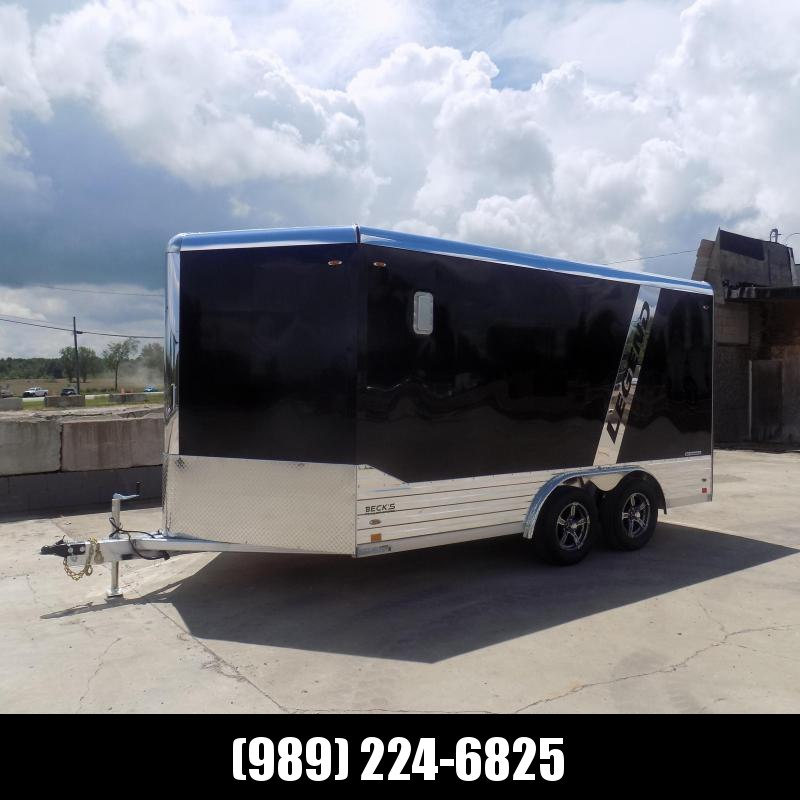 New Legend Deluxe V Nose 8' X 17' All Aluminum Cargo Trailer - $0 Down & Payments from $187/mo. W.A.C.