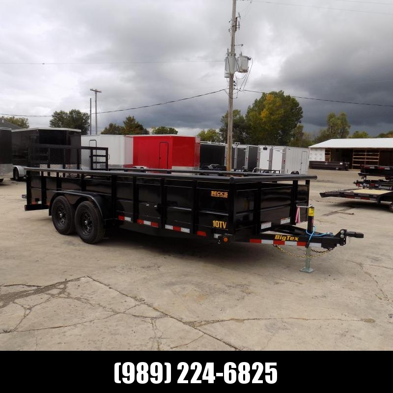 New Big Tex 7' x 18' High Side Utility Trailer With 5200# Axles - $o Down & $129/mo. W.A.C.