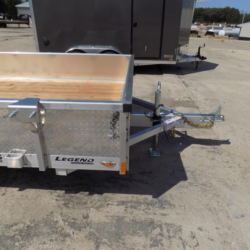 New Legend Open Deluxe 7' x 12' Aluminum Utility - $0 Down & Payments From $107/mo. W.A.C.