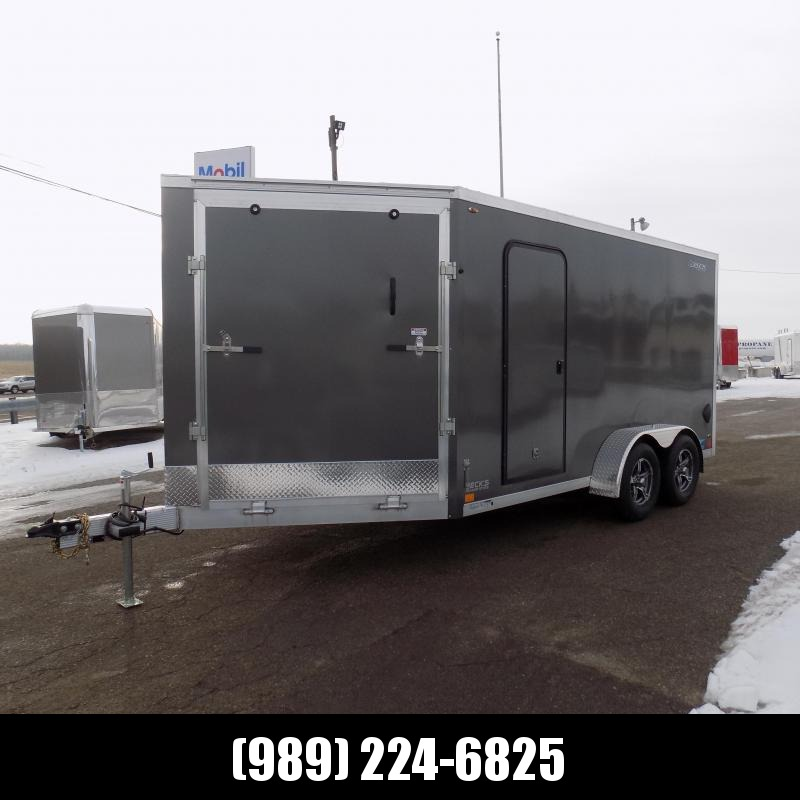 New Legend Thunder 7' x 19' Aluminum Snowmobile Trailer - $0 Down & Payments From $137/mo. W.A.C. - Best Deal Guarantee