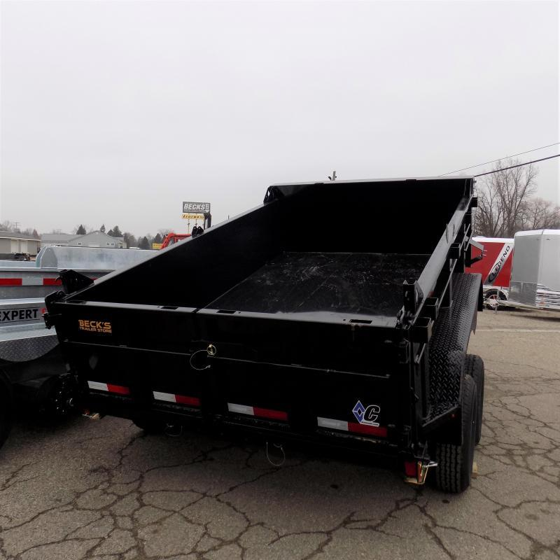 New Diamond C Trailers 6.5' x 10' Dump Trailer For Sale - $0 Down Financing Available - Low Rates