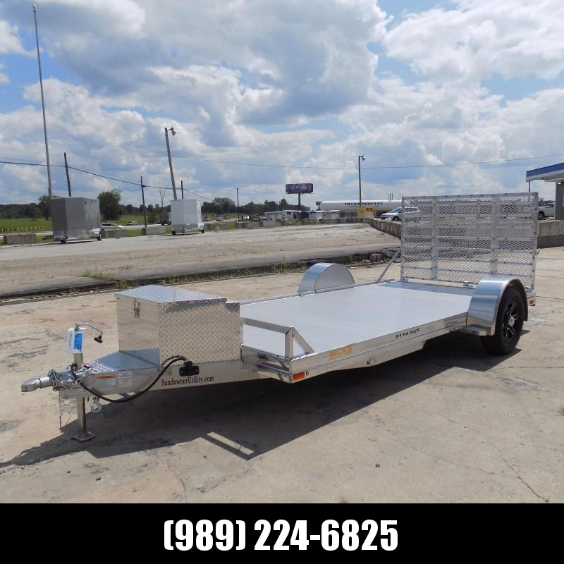 """New Sundowner Trailers 81""""  14' Utility Trailer For Sale - $0 Down with $105/mo Payments W.A.C"""