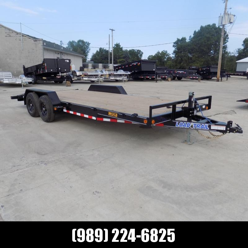 """New Load Trailer 83"""" x 20' Car/Equipment Trailer - $0 Down & Payments from $105/mo. W.A.C."""