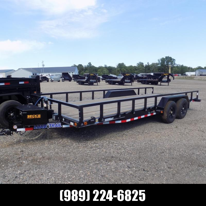 """New Load Trailer 83"""" x 20' Car/Equipment Trailer - $0 Down & Payments from $113/mo. W.A.C."""