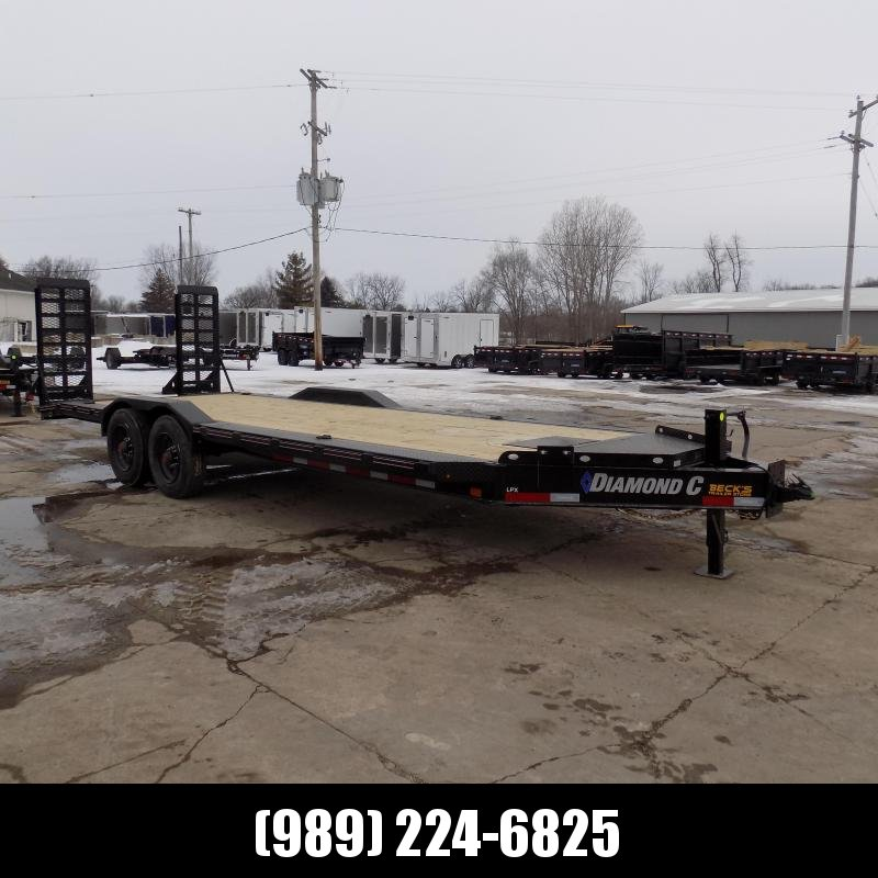 "New Diamond C Trailers 102"" x 22' Heavy Duty Equipment Trailer With Drive-Over Fenders - 10K Torsion Axles - $0 Down & Payments from $157/mo. W.A.C."