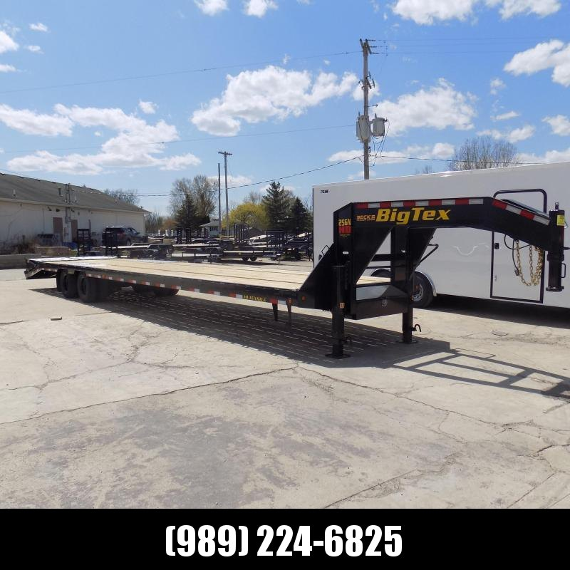 """New Big Tex 102"""" x 35' + 5' Gooseneck Trailer w/ 25900# Weight Rating - $0 Down Financing Available"""