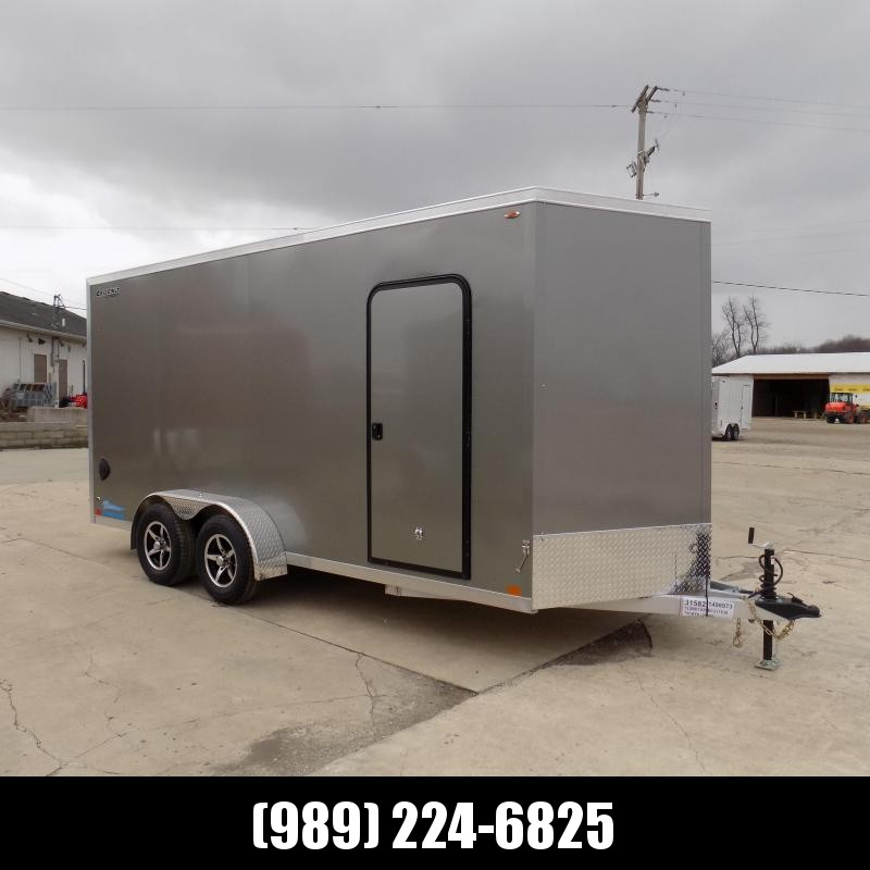 New Legend Thunder 7' X 18' Aluminum Enclosed Cargo Trailer For Sale - $0 Down Payments From $109/Mo W.A.C