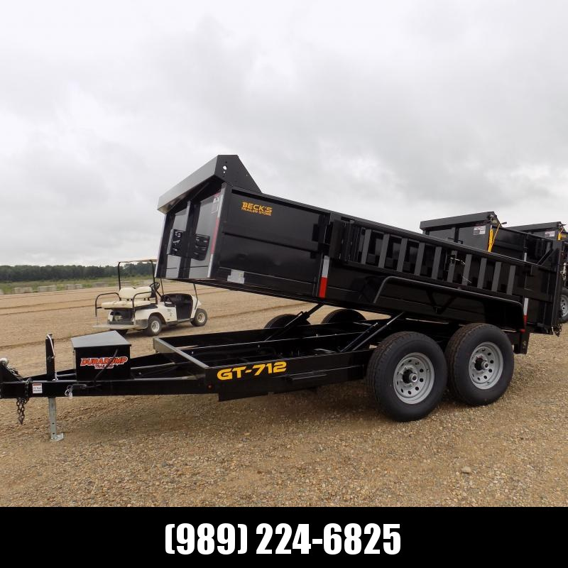 New DuraDump 7' x 12' Dump Trailer For Sale - Payment From $117/mo. With $0 Down W.A.C.