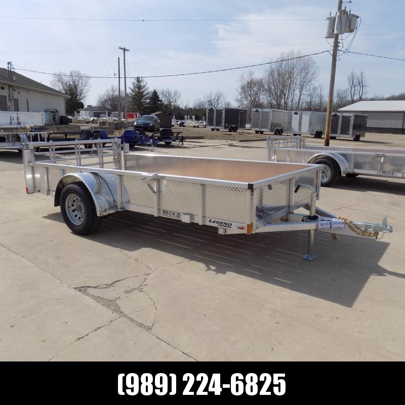 New Legend Open Deluxe 6' x 12' Aluminum Utility - $0 Down & Payments From $75/mo. W.A.C.