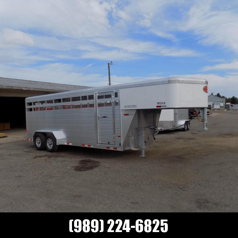 New Sundowner Trailers 20' Aluminum Stock Trailer - Great Warranty - $0 Down Financing