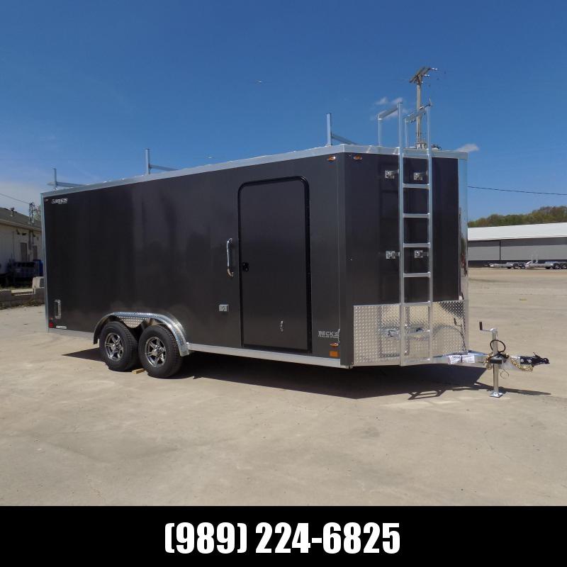 New Legend FTV 8' x 21' Aluminum Cargo/Contactor Trailer - 5200# Torsion Axles - $0 Down Financing Available