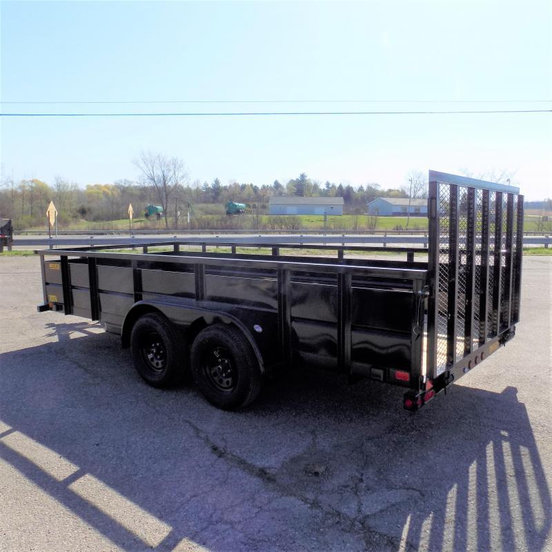 New Big Tex 10TV 7' x 16' Utility/Landscape Trailer With Solid Sides - $0 Down Financing Available