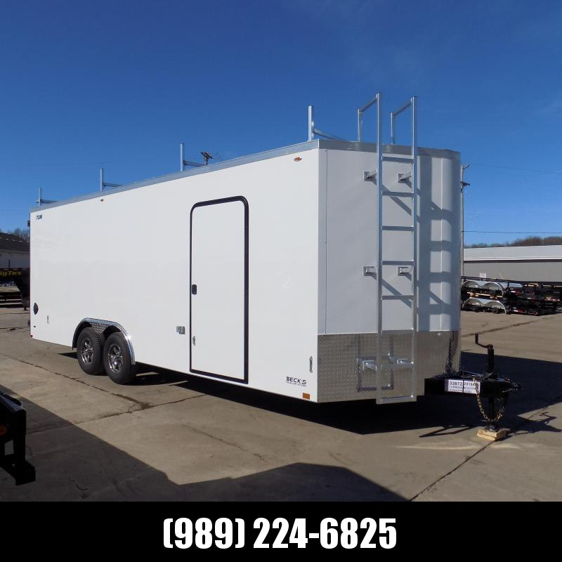 New Legend Trailers Legend Cyclone 8.5' x 24' Enclosed Car Hauler / Cargo Trailer with 5200# Torsion Axles - $0 Down Payments From $139/mo W.A.C.