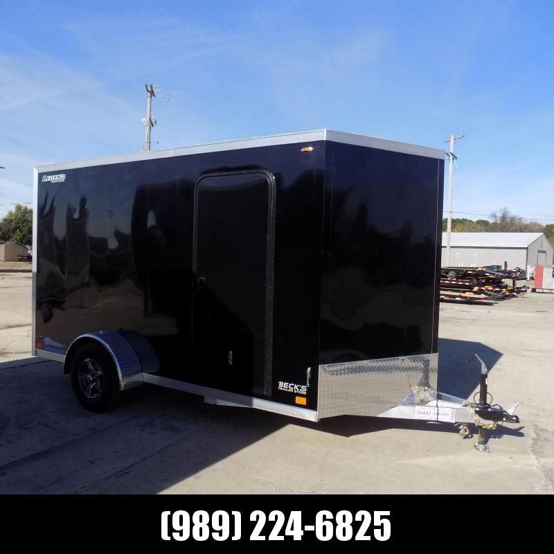 New Legend Thunder 7' x 14' Aluminum Enclosed Cargo Trailer for Sale- $0 Down Payments From $131/Mo W.A.C.