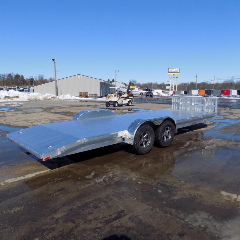New Legend 7' x 22' Aluminum Open Car Hauler - Torsion Axles - $0 Down & Payments From $119/mo. W.A.C.
