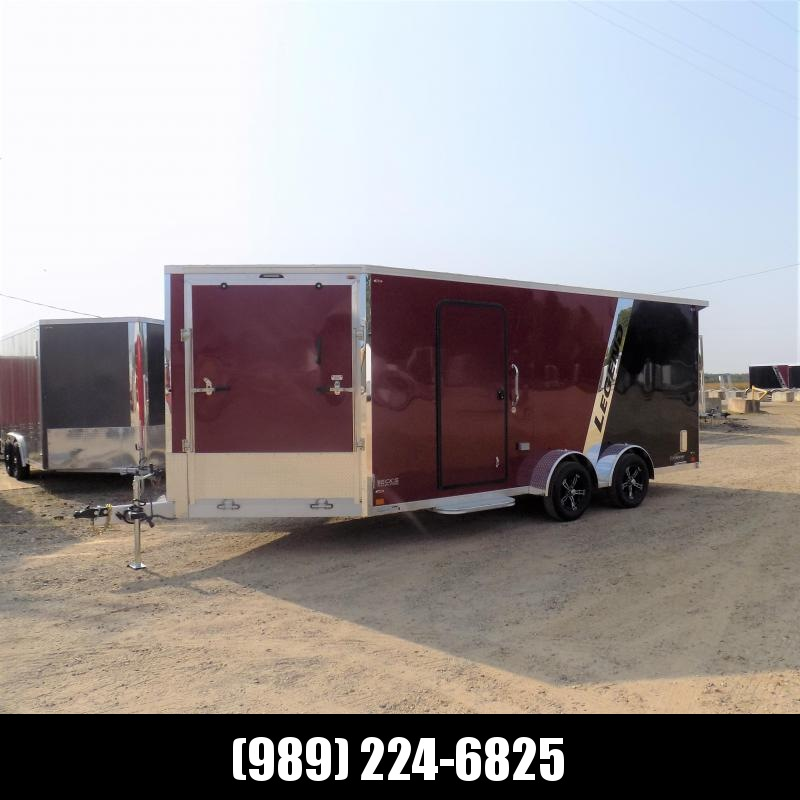 New Legend Explorer 7' x 23' Snowmobile Trailer - $0 Down & Payments From $155/mo. W.A.C - Come See America's Largest Snow/ATV Trailer Inventory!