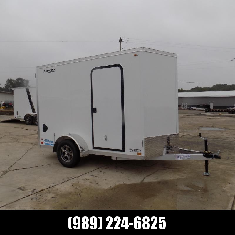 New Legend Thunder 6' x 11' Aluminum Enclosed Cargo Trailer for Sale- $0 Down Payments From $109/Mo W.A.C.