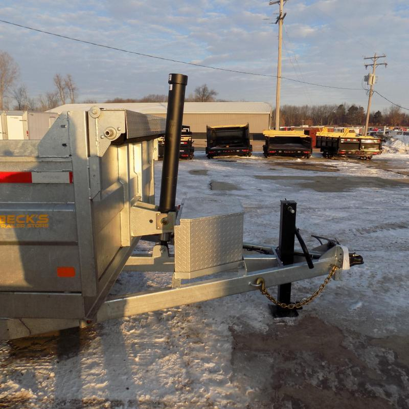 """New Galvanized 7"""" x 14' Dump Trailer with 24K Telescopic Lift - $0 Down & Payments From $157/mo. W.A.C."""