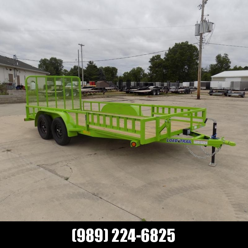New Load Trail 7' x 16' Landscape/Utility Trailer For Sale - $0 Down & Payments From $75/mo. W.A.C.