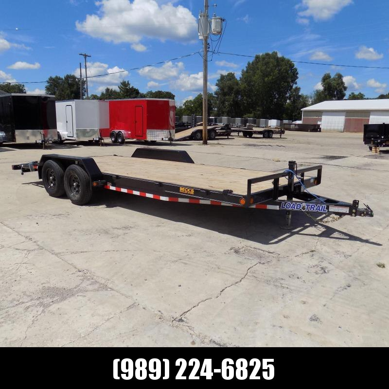 """New Load Trailer 83"""" x 20' Car Hauler Trailer For Sale - $0 Down & Payments from $107/mo. W.A.C."""