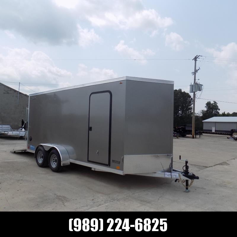 New Legend Thunder 7' x 18' Aluminum Enclosed Cargo Trailer for Sale- $0 Down Payments From $113/Mo W.A.C.