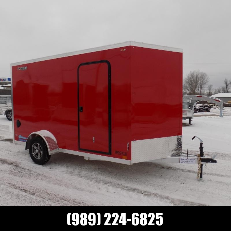 New Legend Thunder 7' x 14' Aluminum Enclosed Cargo For Sale - $0 Down Payments From $113/mo. W.A.C