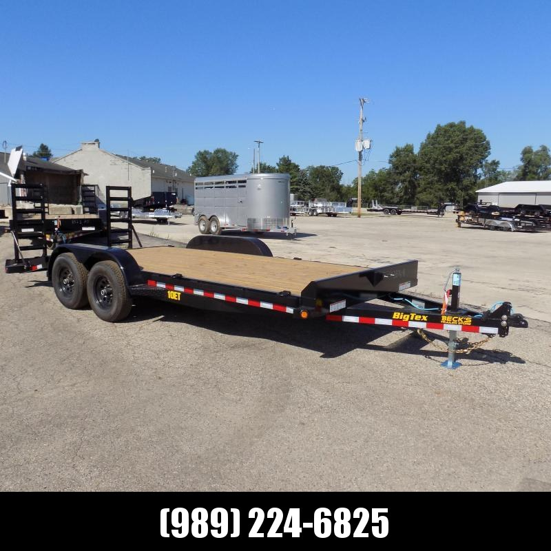 New Big Tex 7' x 18' Equipment Trailer For Sale - $0 Down & Payments From $107/mo. W.A.C.