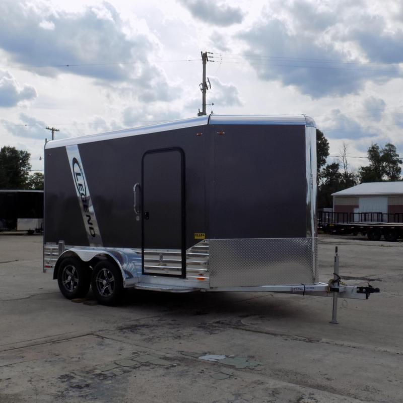 New Legend Deluxe V-Nose 7' x 15' Aluminum Enclosed Cargo For Sale
