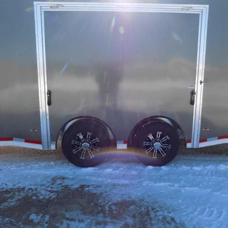 New Legend Trailmaster 8.5' x 28' Aluminum Race Series Trailer w/ Escape Door & 7K Torsion Axles - $0 Down Financing Available