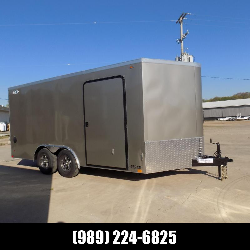 New Legend Trailers Legend Cyclone 8.5' x 18' Enclosed Car Hauler / Cargo Trailer for Sale - $0 Down Payments From $125/mo W.A.C.
