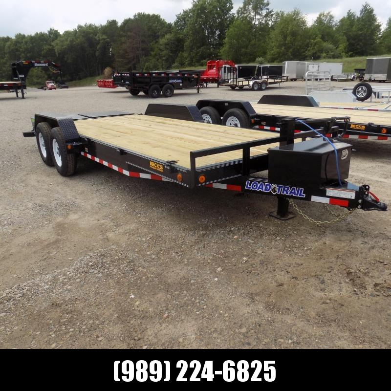 """New Load Trailer 83"""" x 20' Car Hauler Trailer For Sale With 7K Axles- $0 Down & Payments from $119/mo. W.A.C."""