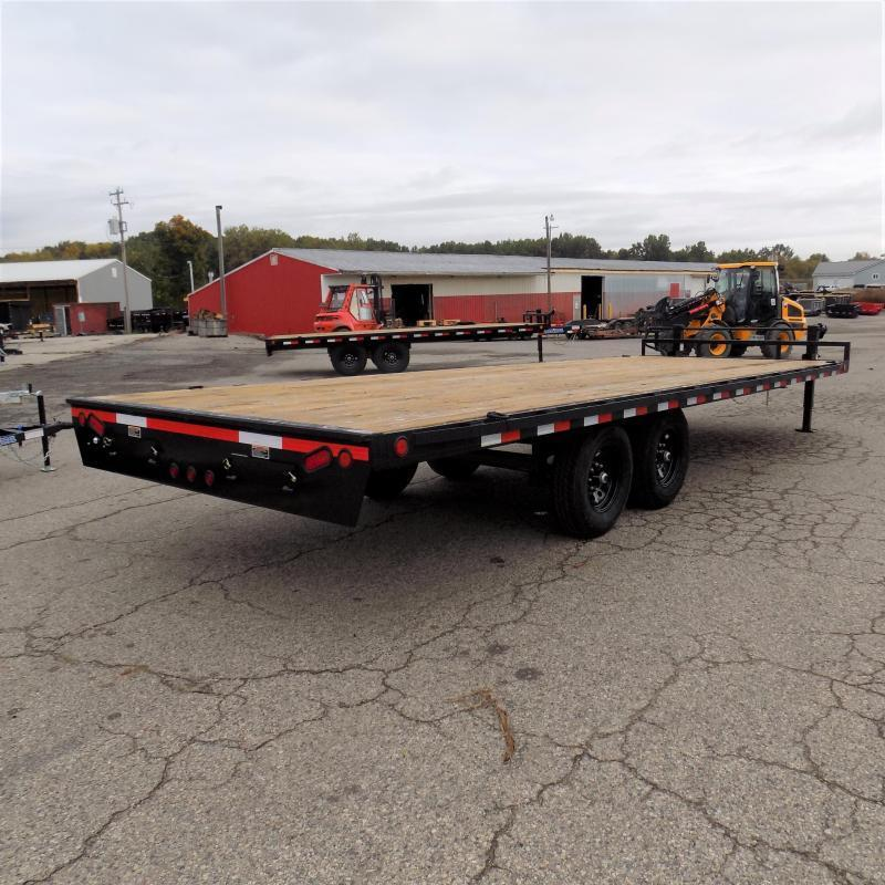 "New Load Trail DK14 102"" x 24' Deckover Trailer for Sale - $0 Down & Payments From $115/mo. W.A.C."