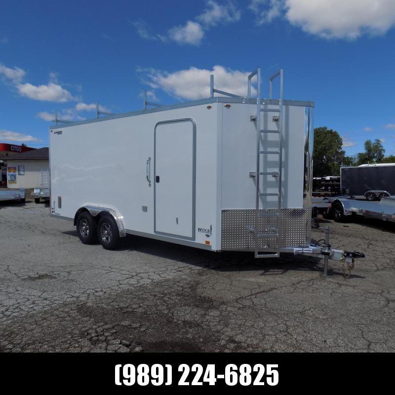 New Legend FTV 8' x 21' Heavy Duty Aluminum Contractor Cargo Trailer - 5200# Torsion Axles - $0 Down Financing Available