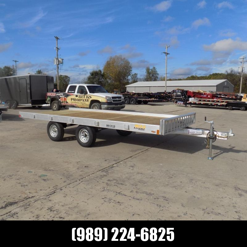 New Legend ATV Master 7' x 16' Aluminum Utility Trailer - $0 Down & Payments From $117/mo. W.A.C.
