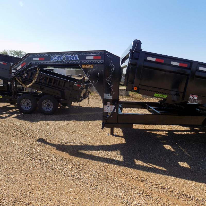New Load Trail 7' x 14' Gooseneck Dump Trailer - $0 Down & Payments from $159/mo. W.A.C.