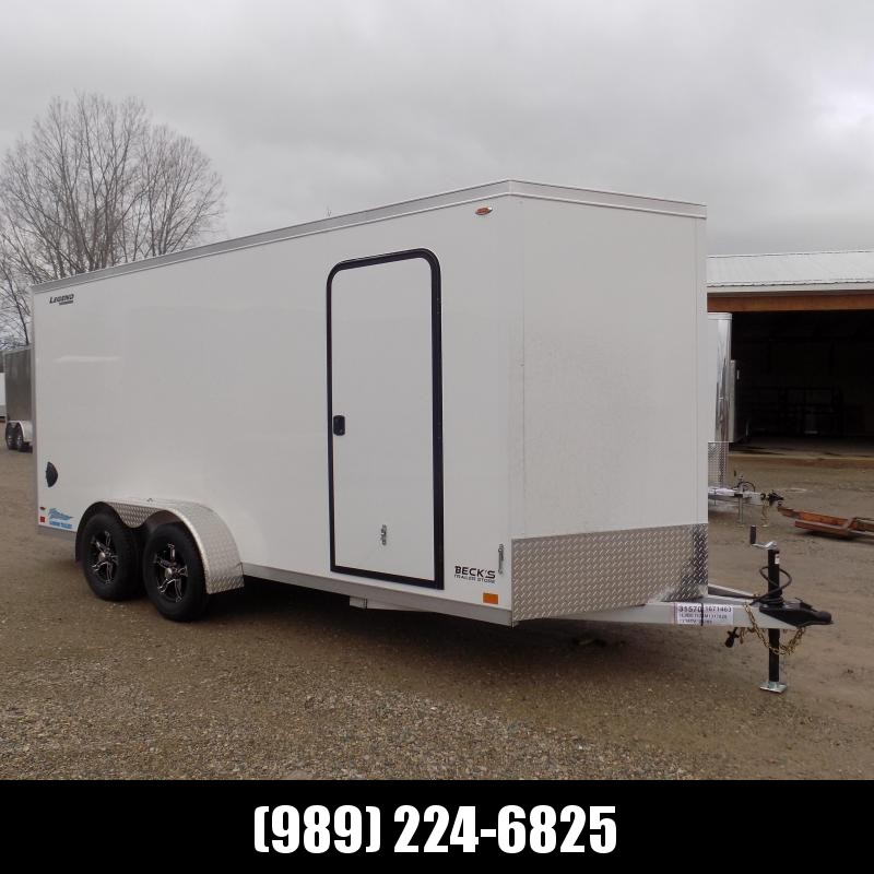 New Legend Thunder 7' X 18' Aluminum Enclosed Cargo Trailer For Sale - $0 Down Payments From $119/Mo W.A.C