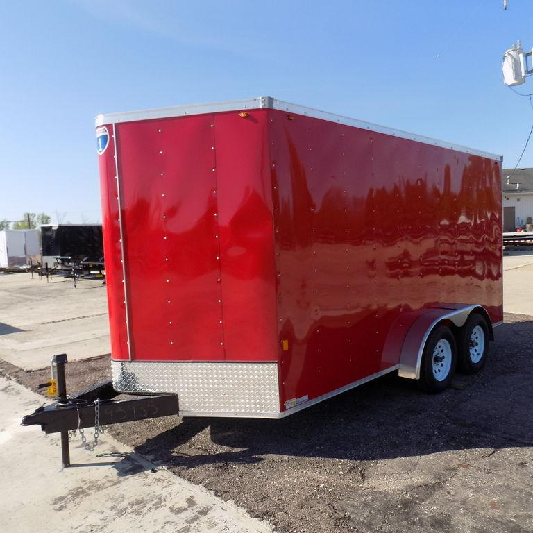 New Interstate 7' x 14' Tandem Axle Enclosed Cargo Trailer for Sale